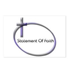 Cute Religious statement Postcards (Package of 8)