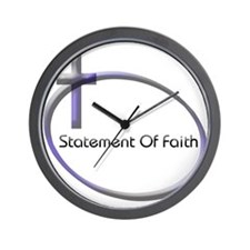 Cute Religious statement Wall Clock