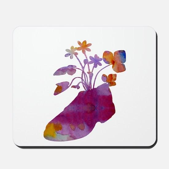 Shoeflowers Mousepad