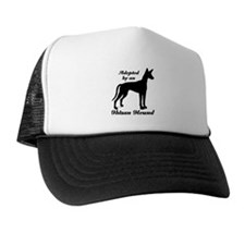 ADOPTED by Ibizan Hound Trucker Hat