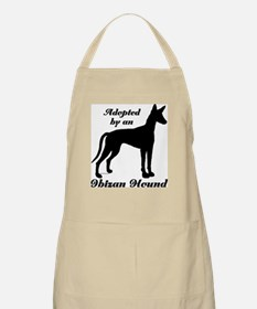 ADOPTED by Ibizan Hound BBQ Apron