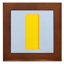 Second Lieutenant Framed Tile