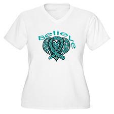 OvarianCancer BELIEVE T-Shirt