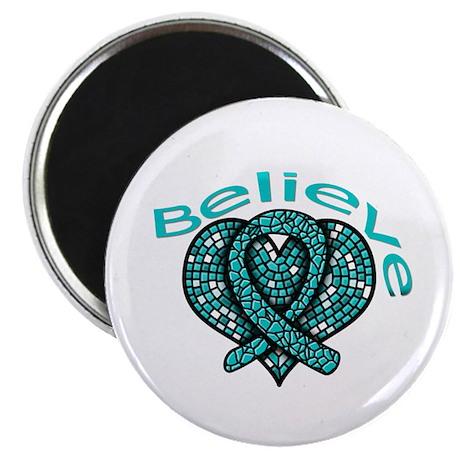 OvarianCancer BELIEVE Magnet