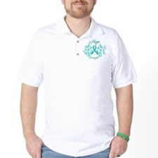 OvarianCancer HopeStrength T-Shirt