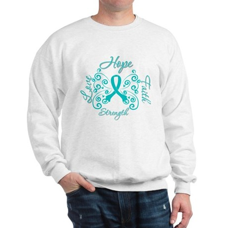OvarianCancer HopeStrength Sweatshirt