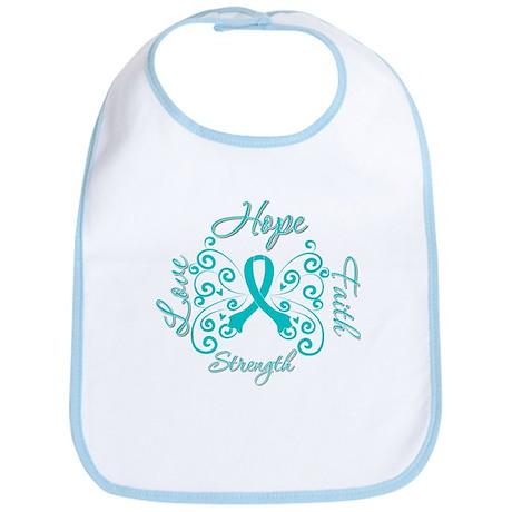 OvarianCancer HopeStrength Bib