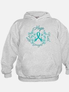OvarianCancer HopeStrength Hoodie