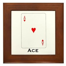 Ace -  Framed Tile
