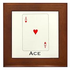 Ace -  Framed Tile