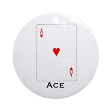 Ace -  Ornament (Round)