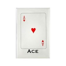 Ace - Rectangle Magnet