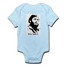Vote Castro Infant Creeper