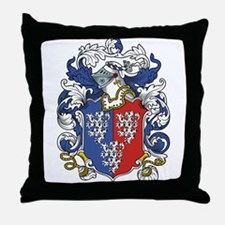Rous Coat of Arms Throw Pillow