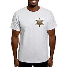 Sheriff -  Ash Grey T-Shirt