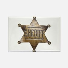 Sheriff - Rectangle Magnet