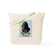 Black and Tan Coonhound Tote Bag