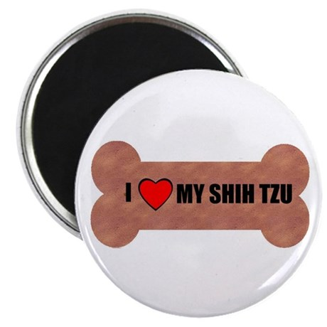 "I LOVE MY SHIH TZU 2.25"" Magnet (100 pack)"
