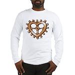 Heart-Shaped Gear Long Sleeve T-Shirt