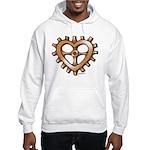 Heart-Shaped Gear Hooded Sweatshirt
