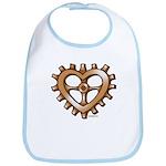 Heart-Shaped Gear Bib