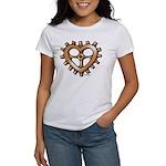 Heart-Shaped Gear Women's T-Shirt