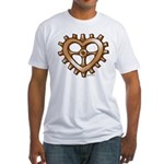Heart-Shaped Gear Fitted T-Shirt