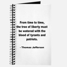 Jefferson Tree of Liberty Quote Journal
