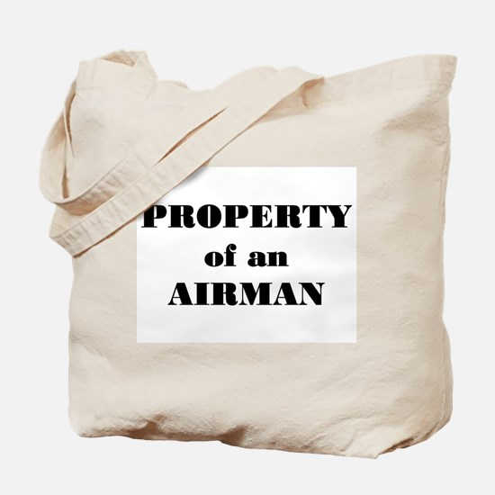 Property of an Airman Tote Bag