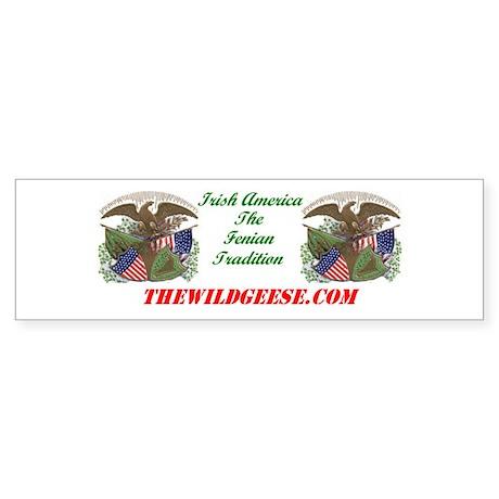 Irish America: Fenian - Bumper Sticker