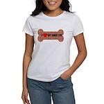 I LOVE MY SHIH TZU Women's T-Shirt