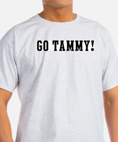 Go Tammy Ash Grey T-Shirt
