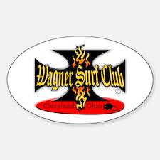 Oval Sticker Wagner Iron Cross