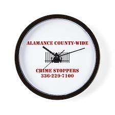 Funny Crime Wall Clock