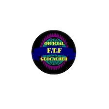FTF Black/Purple Mini Button