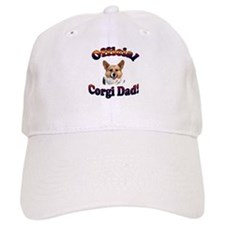 Official Corgi Dad - Red Head Baseball Baseball Cap