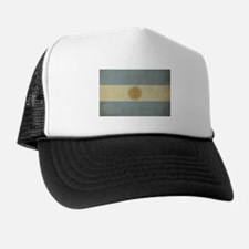 Vintage Argentina Flag Trucker Hat