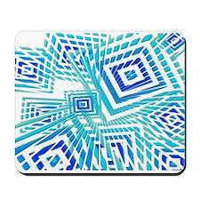 Atomic Blue Prizm Mousepad