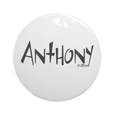 Anthony Ornament (Round)