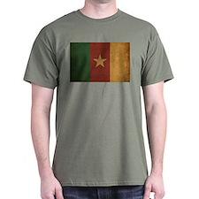 Vintage Cameroon Flag T-Shirt
