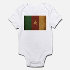 Vintage Cameroon Flag Infant Bodysuit