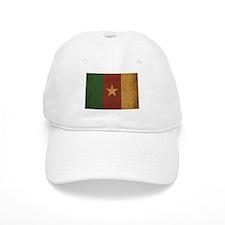 Vintage Cameroon Flag Baseball Cap