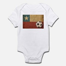 Vintage Chile Flag Infant Bodysuit