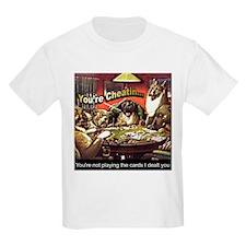 Poker Playin Dogs ~ T-Shirt