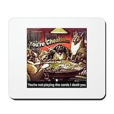 Poker Playin Dogs ~ Mousepad