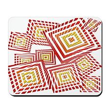 Atomic Red Prizm Mousepad