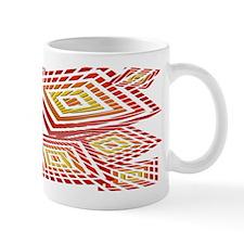 Atomic Red Prizm Mug