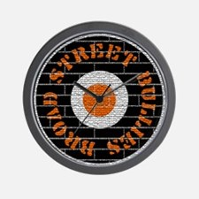 Broad Street Bullies Brick Wall Clock