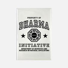 Property Dharma Rectangle Magnet