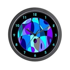 Cool Psychedelic Wall Clock